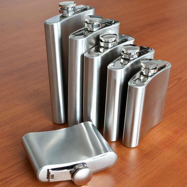 Liquor whiskey flasks stainless steel liquor alcohol hip flask gift