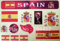 Espana Spain National Soccer Team Decal Car Window Stickers #22
