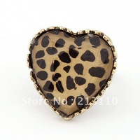 Fashion heart shaped fashion good looking adjustable ring women's ring