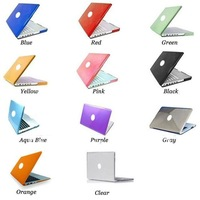 For Macbook Case See through Glossy Type Snap On Crystal Cover For Apple Macbook Pro 13/ Pro 15/ White/ Air 11/ Air 13 inch