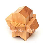 rocket- Wood Puzzle Wooden Brain Teaser