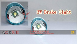 White CREE Q5 T10/T15 1156/1157 3W LED Brake Backup Reversing Light lamp Bulb 10pc/lot free shipping Wholesale!(China (Mainland))