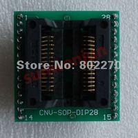 ADP-028 CNV-SOP-DIP28 SOIC28-DIP28 adapter width:7.5mm-8mm, pitch:1.27mm
