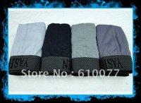 2014 NEW 100% Cotton 10ps Lot Gay Underwear Cuecas Undies Hipster Roupa Interior Ea Bermuda Boxer For Men Men High Quality XXXL