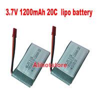 2 pcs x 3.7V 1000mAh 1200mAh 20C Lipo RC Battery F Walkera 5G4Q3 5#10 4G1 HM-5G4-Z-21 MJX T04 T05 T25 M03 Double Horse 9074 9051