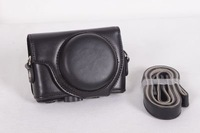 Free shipping,Black Retro Vintage Leather Camera Case Bag Cover For Sony DSC-RX100 RX100 New
