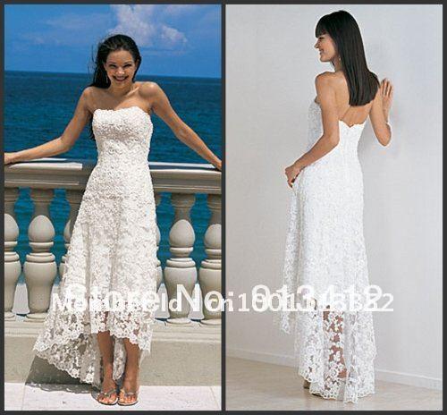 Free Shipping By DHL FedEx Casual Beach Wedding Dress White Elegant Princess Satin Bridal Gown
