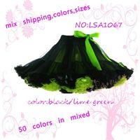 High quality+LSA1067 lovely color girls pettiskirt,tutu pettiskirts