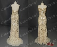 New Listing Fashion High Quality Real Sample Sweetheart Nice Evening Dress Formal Evening Gown