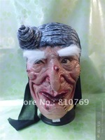 """Free Shipping Best Selling White mask Halloween mask. ."""" Mask of terror, the rubber face mask FC016"""