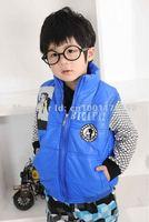 Жилет для мальчиков Sunlun Fantasy Zone Boys' Fashion Waistcoat/Kids' Zipper Vest/Boys' Hooded Waistcoat