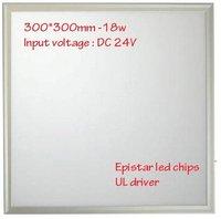 new design upmarket High lumen output Square 18W 300*300mm 3014 smd slim led light panel