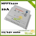 CE ROHS MPPT Solar Charge Controller MPPT2410 10A 12V 24V Auto Control Solar Panel Maximize the Efficiency of Solar System Sampl