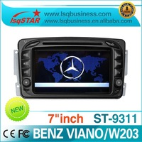 Benz Viano/W203/W210//vito/W170/C209,208/W463 car dvd with gps navigation  Free shipping!! Hot selling!!