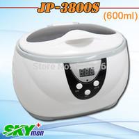 Skymen ultrasonic bath cleaner for jewerllery, watch, razor 600ml with basket free shipping