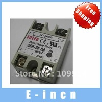 5PCS SSR-25DA Solid-state relays FOTEK 20A minitype DC-AC one-phase Relay, free shipping