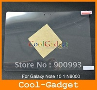 For Galaxy Note 10.1 Screen Protector,  Clear Screen Guard Film Cover for Samsung Galaxy Note 10.1 N8000 No RP 100pcs MSP490