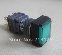 pushbutton switch AH164-TL5G22E3 GREEN with light led cnc controller Machine Tool Accessories machine tool fanuc  lathe machine