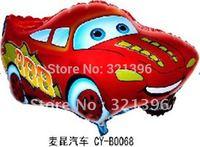 Free shipping!! Aluminum Foil balloons car shape, party balloons, baby toys 100pcs a lot