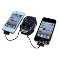 Megnetic Induction Charger Backup Battery Pack 3800 mAh for iPhone/HTC/Samsung i9300 Mobile Phone 4 colors