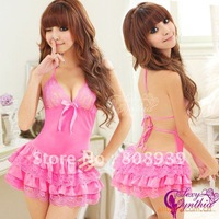 Free shipping Sexy Lingerie Dress Princess series of sexy lingerie adult sexy costumes Fashion Sleepwear Underwear Uniform 4753
