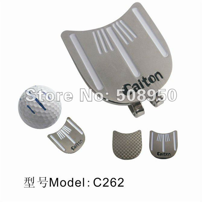 New Arrival Targeting Golf Ball Marker & Hat Clip - 2012 Hot Sale Golf Promotional Gilf Wholesale(China (Mainland))
