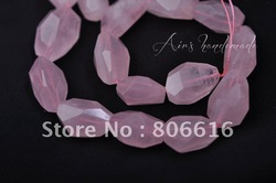 8*10MM 76Pcs Natural Rose Quartz Free Shape Loose Crystal Bead Strand Semi-precious Stone Jewelry Beads(China (Mainland))