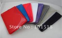 100pcs/lot Free shipping New S-line TPU Gel Case Protector for Apple minipad