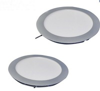 Free shipping 180*15mm Round ceiling panel light 110-240V 10W 7inch high bright SMD3014
