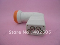 High gain low noise ku quad lnb 9.75/10.6GHz for satellite tv