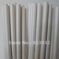 SALE! drinking paper straws wholesale, full color, white, free shipping, 500 pcs/lot