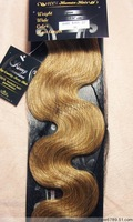 "Retail Virgin Brazilian Factory Outlet Price AAA+ 18-26"" Remy Human Hair Extensions Weft #16  Honey Blonde"