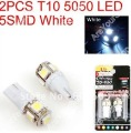 2013 new 5 x Car Auto LED T10 194 W5W 5050 Wedge Light Bulb Lamp 5SMD White/Green/Blue/Red/Yellow