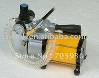 Portable design mini airbrush compressor
