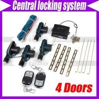 Car 4 Doors Remote Central Locking System #2372