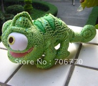 "New Wholesale~~Princess Tangled Rapunzel's Friend ~Pascal~~ the  Chameleon 8"" Plush doll FREE SHIPPING"