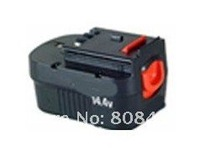 Wholesaler Power tool battery for Black&Decker  with Ni-MH cells 14.4V(B) 3.3Ah  free shipping