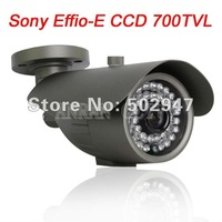 "High Resolution 700TVL 1/3"" SONY Effio-E CCD 36 IR Waterproof Outdoor Security CCTV Camera OSD Menu"