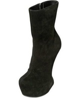 Free shipping! 2012 hot selling lady&#39;s fashion  boots, high heel platform shoes