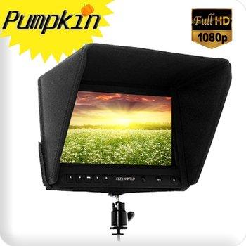 Feelworld 8 inch 1080P HD On-Camera\Video Field Monitor HDMI IN+VGA+Composite AV input W/o Battery