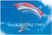 Novelty! 3ch radio remote control Parachute rc Airplane RC toy RC paraglider Gold Rositar paracopter