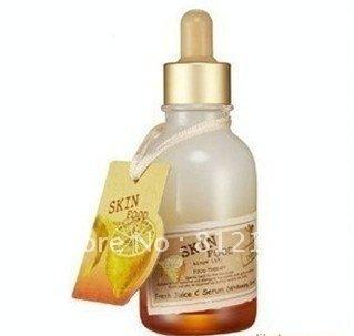 Wholesale 100% Quality Guarantee 3pcs/lot  skin food Fresh Juice C Serum Facial essence 50ml Free shipping