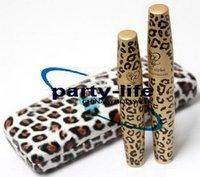 Eyelash Extension love alpha Mascara Transplanting Gel + Natural Fiber Leopard Mascara set, 30sets