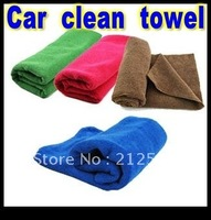 Free shipping wholesale good absorbent  Microfiber Cloth  Car Cleaning Cloth Wash with Super absorbent
