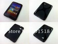 Soft TPU Gel Case for Samsung Galaxy Tab 7.0 Plus P6200+Film