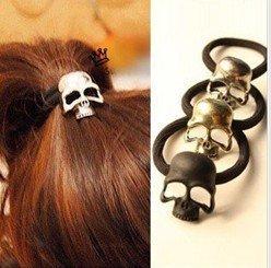 Min.order is $10 (mix order) Free Shipping Fashion Skeleton metal hair band Hair Accessories JK-004