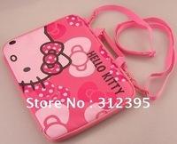 10pcs/lot Wholesale beautiful hello kitty Notebook bags size 23cm*31cm*2.3cm