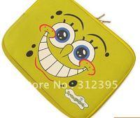 10pcs/lot Wholesale beautiful SpongeBob Notebook bags size 30.5*22.7cm