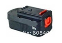 Wholesaler Power tool battery for Black&Decker  with Ni-MH cells 18V(B) 3.5Ah  free shipping