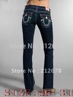 Silver pattem  women jeans ,Straight cut slim ladies jeans denim trousers pants